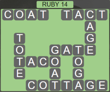 Wordscapes Fall Ruby 14 - Level 3006 Answers