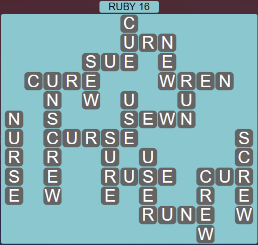 Wordscapes Fall Ruby 16 - Level 3008 Answers
