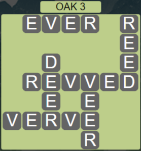 Wordscapes Fall Oak 3 - Level 3011 Answers