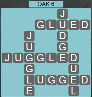 Wordscapes Fall Oak 6 - Level 3014 Answers