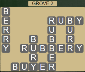 Wordscapes Fall Grove 2 - Level 3026 Answers