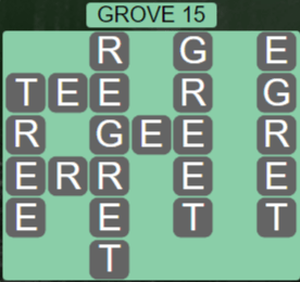 Wordscapes Fall Grove 15 - Level 3039 Answers