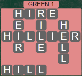 Wordscapes Rain Forest Green 1 - Level 3041 Answers