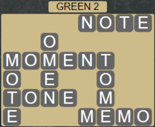 Wordscapes Rain Forest Green 2 - Level 3042 Answers