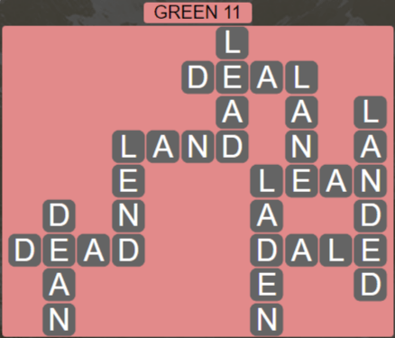 Wordscapes Rain Forest Green 11 - Level 3051 Answers