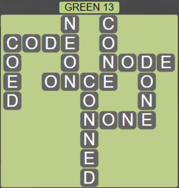 Wordscapes Rain Forest Green 13 - Level 3053 Answers