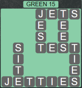 Wordscapes Rain Forest Green 15 - Level 3055 Answers