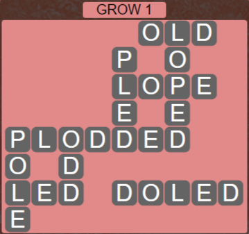 Wordscapes Rain Forest Grow 1 - Level 3057 Answers