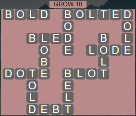 Wordscapes Rain Forest Grow 10 - Level 3066 Answers