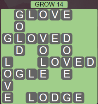 Wordscapes Rain Forest Grow 14 - Level 3070 Answers