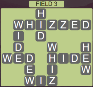 Wordscapes Rows Field 3 - Level 3123 Answers