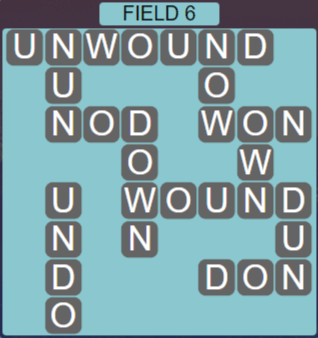 Wordscapes Rows Field 6 - Level 3126 Answers
