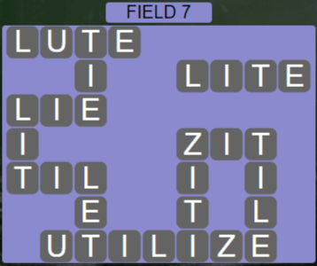 Wordscapes Rows Field 7 - Level 3127 Answers