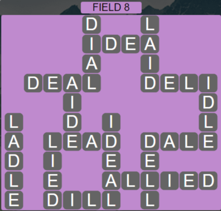 Wordscapes Rows Field 8 - Level 3128 Answers