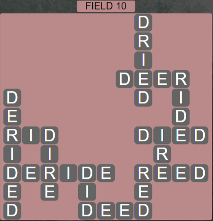 Wordscapes Rows Field 10 - Level 3130 Answers