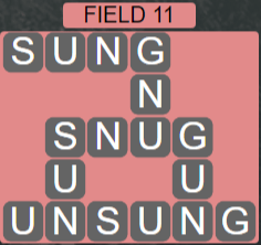 Wordscapes Rows Field 11 - Level 3131 Answers