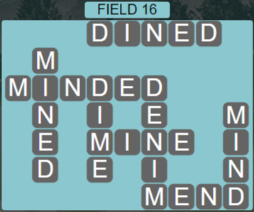 Wordscapes Rows Field 16 - Level 3136 Answers