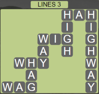 Wordscapes Rows Lines 3 - Level 3139 Answers
