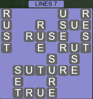 Wordscapes Rows Lines 7 - Level 3143 Answers
