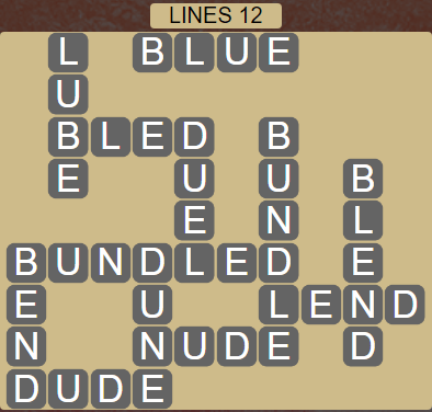 Wordscapes Rows Lines 12 - Level 3148 Answers