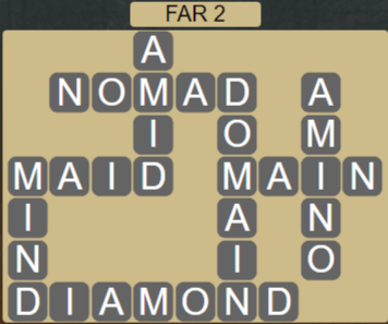 Wordscapes Rows Far 2 - Level 3154 Answers