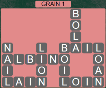 Wordscapes Rows Grain 1 - Level 3169 Answers