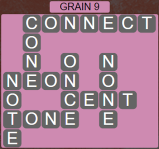 Wordscapes Rows Grain 9 - Level 3177 Answers