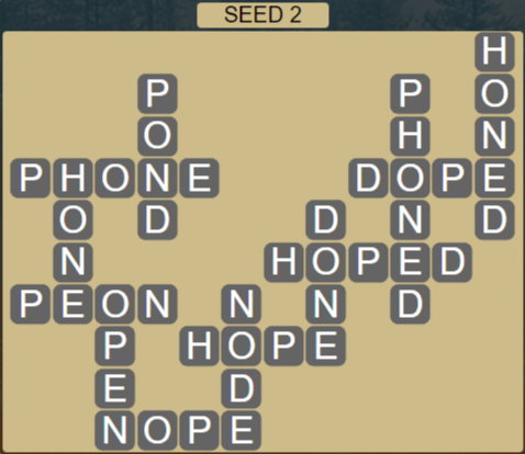 Wordscapes Rows Seed 2 - Level 3186 Answers