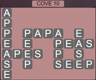Wordscapes Basin Cove 10 - Level 3258 Answers