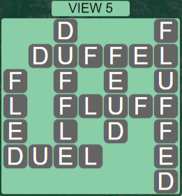 Wordscapes View View 5 - Level 3285 Answers