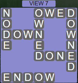Wordscapes View View 7 - Level 3287 Answers