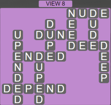 Wordscapes View View 8 - Level 3288 Answers