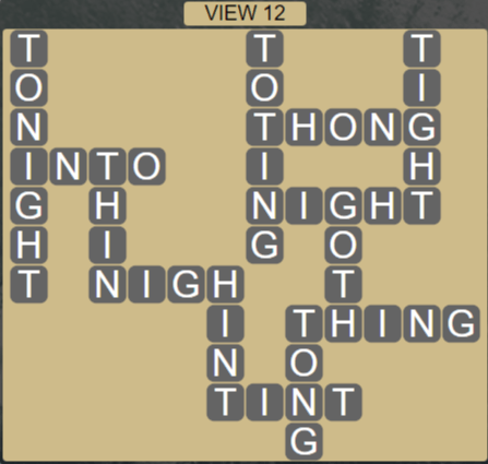 Wordscapes View View 12 - Level 3292 Answers