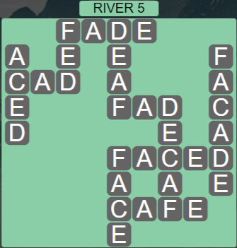 Wordscapes View River 5 - Level 3301 Answers