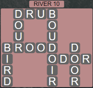 Wordscapes View River 10 - Level 3306 Answers