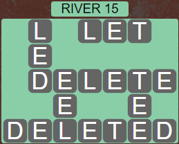 Wordscapes View River 15 - Level 3311 Answers