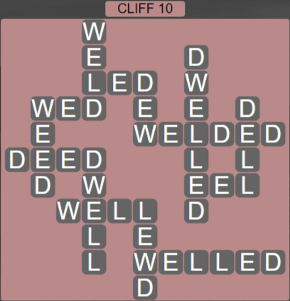 Wordscapes View Cliff 10 - Level 3322 Answers