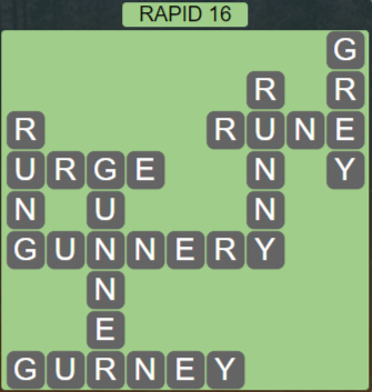Wordscapes View Rapid 16 - Level 3344 Answers