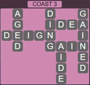 Wordscapes Precipice Coast 3 - Level 3379 Answers