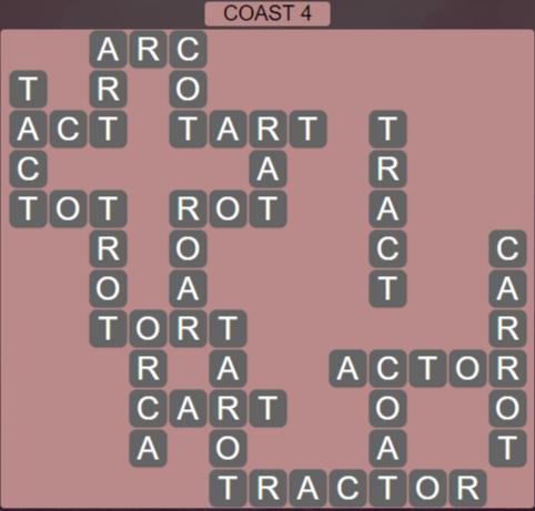 Wordscapes Precipice Coast 4 - Level 3380 Answers