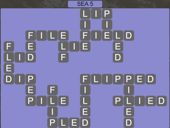 Wordscapes Precipice Sea 5 - Level 3397 Answers