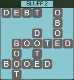 Wordscapes Precipice Bluff 2 - Level 3426 Answers