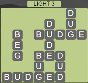 Wordscapes Starlight Light 3 - Level 3443 Answers
