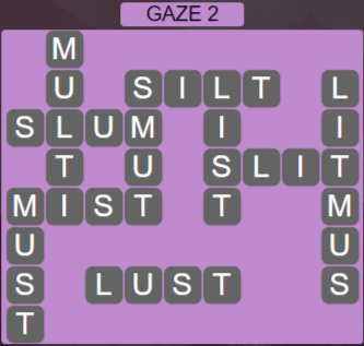 Wordscapes Starlight Gaze 2 - Level 3458 Answers