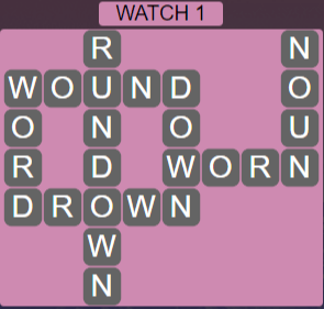 Wordscapes Starlight Watch 1 - Level 3489 Answers