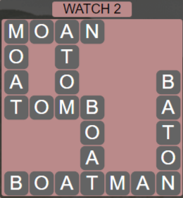 Wordscapes Starlight Watch 2 - Level 3490 Answers