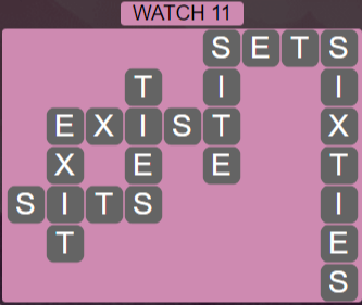 Wordscapes Starlight Watch 11 - Level 3499 Answers