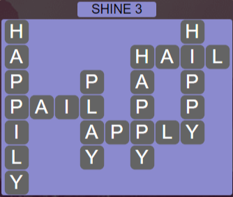 Wordscapes Starlight Shine 3 - Level 3507 Answers