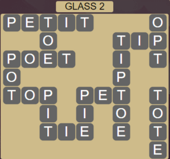 Wordscapes Reflect Glass 2 - Level 3522 Answers