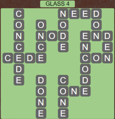 Wordscapes Reflect Glass 4 - Level 3524 Answers